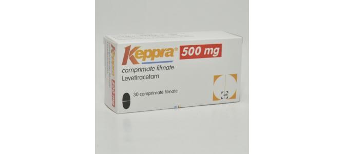 Vand Keppra 500mg x 30cpr. film.