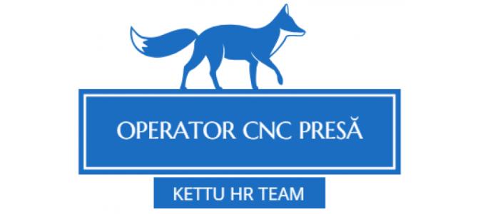 Angajam operatori CNC Presa (FIN)