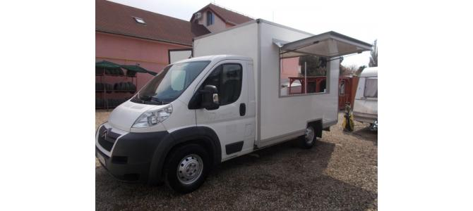 Inchiriez truck food  Citroen Jumper pe weekend