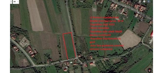 Vand urgent teren intravilan Sauaieu 4251 m²