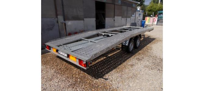 Trailer NIEWIADOW  2 axe,  3,500kg , 2599 euro si in RATE