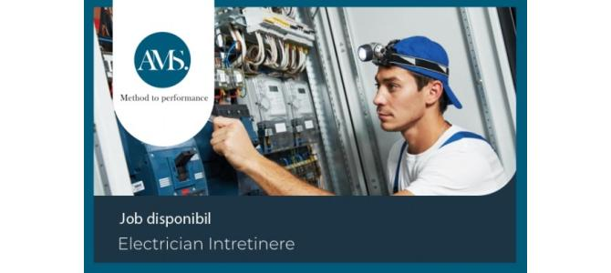 Electrician Intretinere
