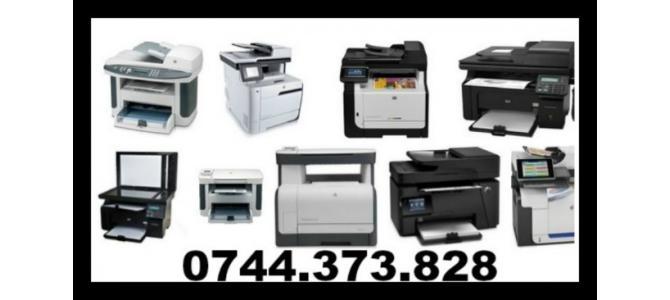 Cartuse pentru imprimante  0744373828 si multifunctionale.