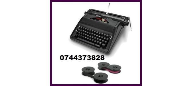 Panglici tus si role masini de scris, bicolore si monocrome.