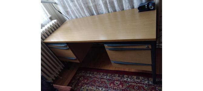 Masa de birou lemn masiv, 140CM x 60CM
