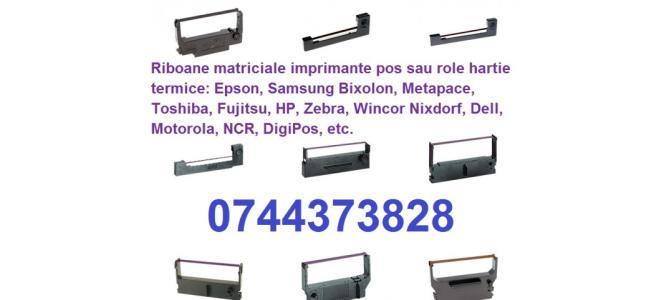 Riboane matriciale imprimante pos sau role hartie termice