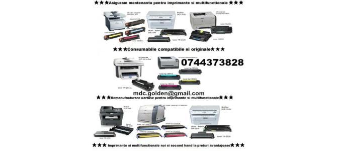 Reincarcare cartuse si reparatii imprimante 0744373828