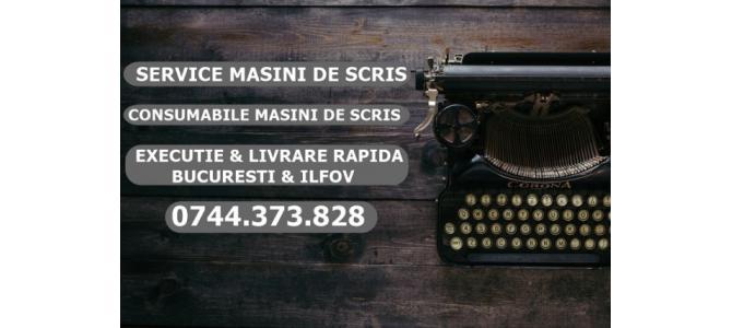 Service masini de scris 0744373828 consumabile
