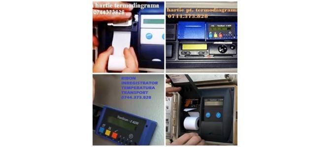 Cartus tusat si Rola hartie termoimprimante Transcan