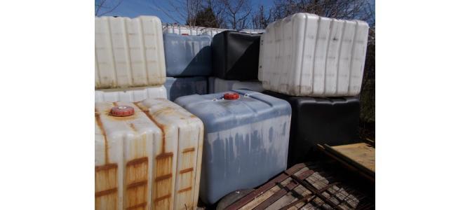 IBC 1000 litri fara cadru ,la Oradea