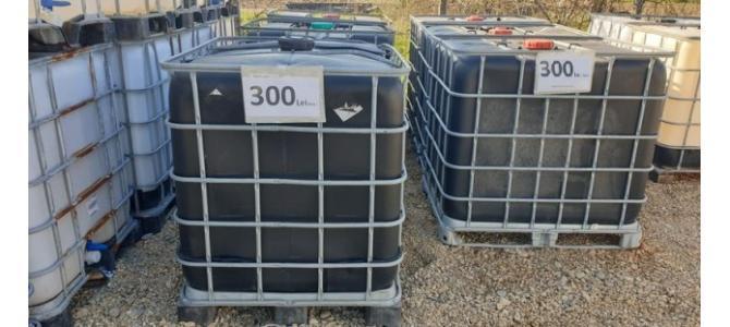 ibc1000 litri culoarea neagra la Oradea din 2019