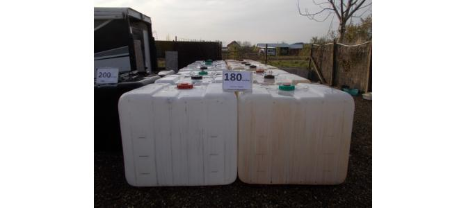 ibc 1000 litri  de la 169Lei, fara cadru-palet container