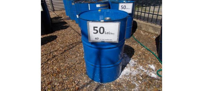 Butoi rezervor  de fier 200 litri de la 40Lei