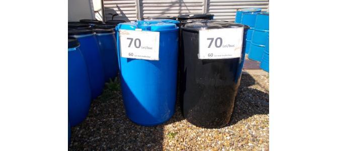Butoi  rezervor de apa PVC 200 litri de la 60Lei , 6mm