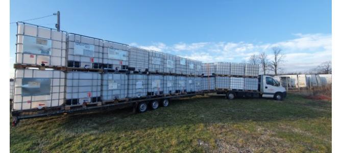 ibc 1000 litri container cub rezervor bazin de apa