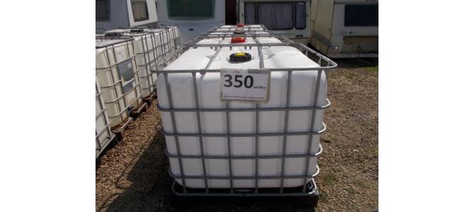 ibc 1000 litri de la 340Lei, mat alb, cu o grosime mai mare