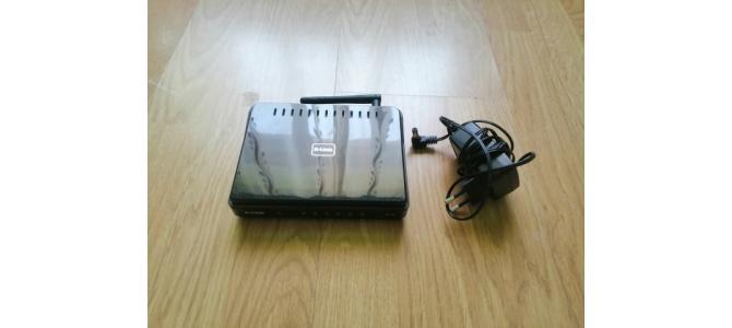 Vand Router wireless D-Link DIR-600, negru, 150 Mbps Pret 55 Lei