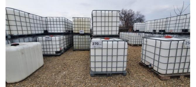 ibc 1000 litri de la 259Lei, container cub rezervor bazin