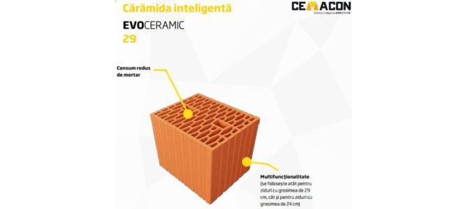 Caramida Cemacon Evoceramic 29/24 (29*24*23,8 cm), 288 Buc Pret 1299 Lei