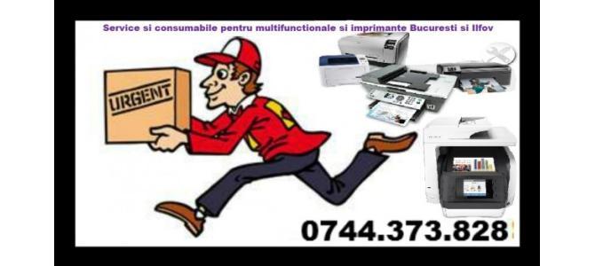 Service  multifunctionale, imprimante Bucuresti si Ilfov.