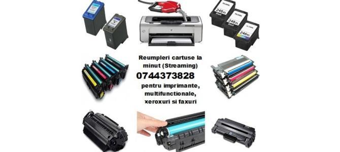 Incarcari cartuse imprimante laser, multifunctionale