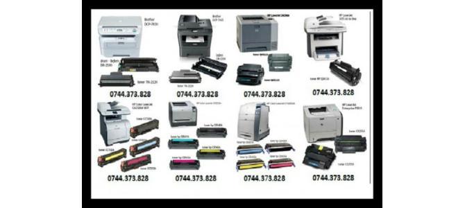 Incarcam orice tip de cartuse ptr. imprimante