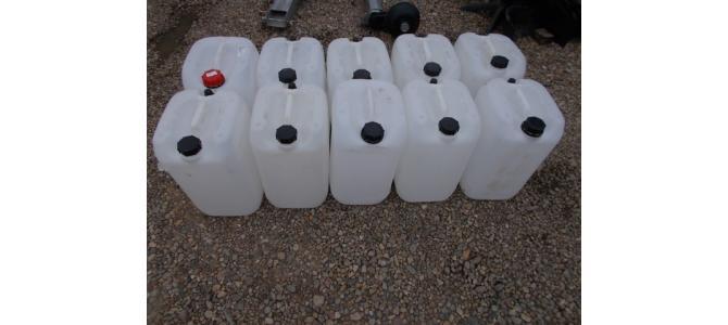 Bidon plastic, 20 litri la Oradea, 10Lei