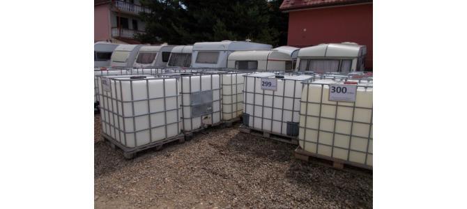 ibc container cub rezervor bazin de apa 1000 litri