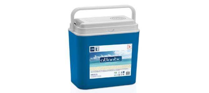 Vand Lada frigorifica electrica Atlantic, auto 12V, 24 Litri, NOUA 145 Lei
