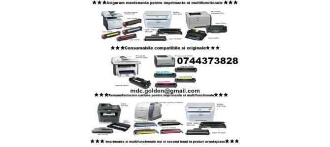 Incarcari cartuse / Cartuse noi ptr. imprimante 0744373828