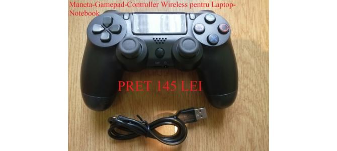 Vand Maneta-Gamepad-Controller Wireless Laptop-Notebook NOU Pret 145 Lei