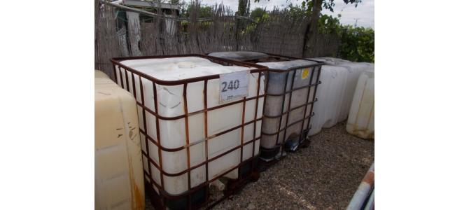 ibc 1000 litri la Oradea, pentru fosa , 250 lei