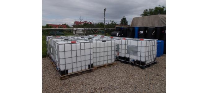 ibc container cub rezervor  1000 litri la Oradea la 399Lei,