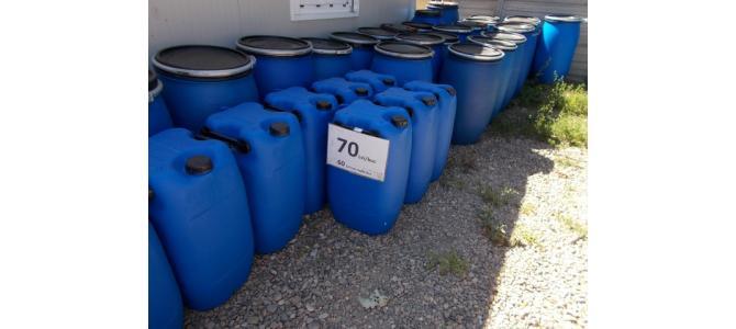 Bidon plastic, 60 litri la Oradea, 70Lei