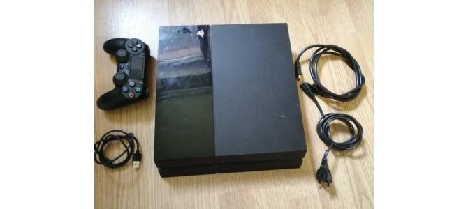 Consola Sony PS4 500Gb + 1 Maneta + 15 Jocuri Instalate + Cabluri 789 Lei