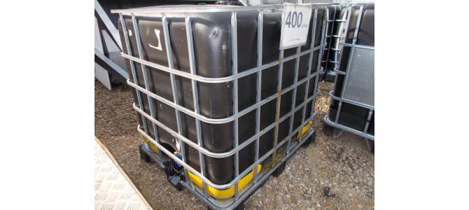 ibc  bazin de apa 1000 litri la Oradea,negru,  la 400