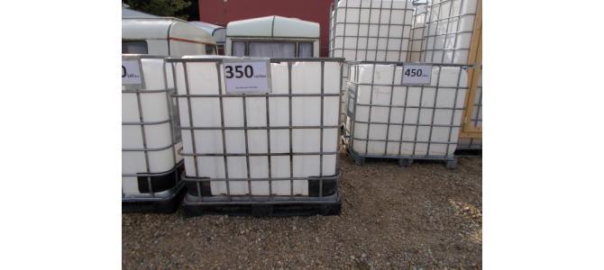 ibc container cub rezervor 1000 litri la Oradea, la 350 Lei