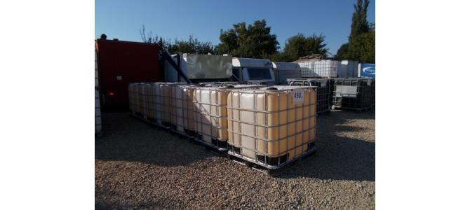 ibc  cub rezervor  1000 litri la Oradea,  la 450 Lei