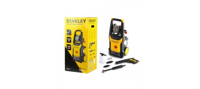 Aparat de spalat cu presiune Stanley SXPW18E, 1.8kW, 135 bar Nou 530 Lei