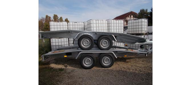 Trailer  remorca WEEKEND , 4m, 2.000kg (2700 kg) NOU