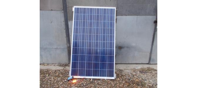 Panou solar fotovoltaic pentru rulote, case mobile