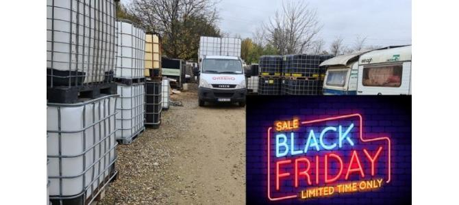 Rezervor ibc 1000 lit Black Friday -20% reducere