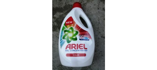Detergent Ariel Gel Concentrat Lichid Rosu 5,775 Litri Rufe 48 Lei
