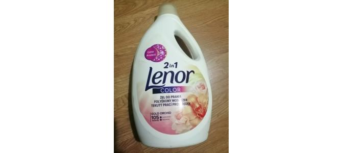 Detergent Lenor 2 in 1 Gold Orchid, Gel Lichid 5,775 Litri Rufe 48 Lei