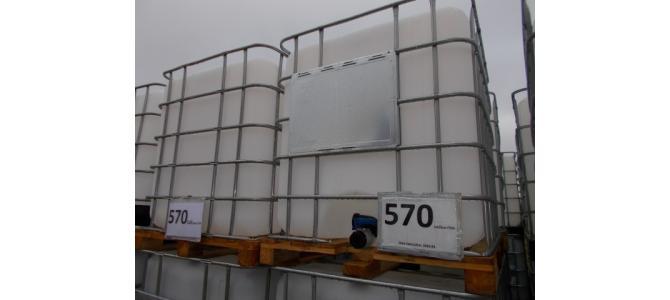 Ibc NOU 1000 litri la Oradea ,2021,01