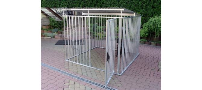 Tarc pentru caini: Kajtek 2m x 2m, Nou pe stoc