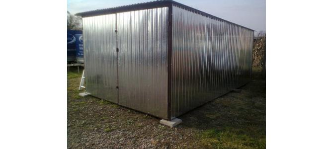 Garaj metalic NOU 3mx5m  2000 lei