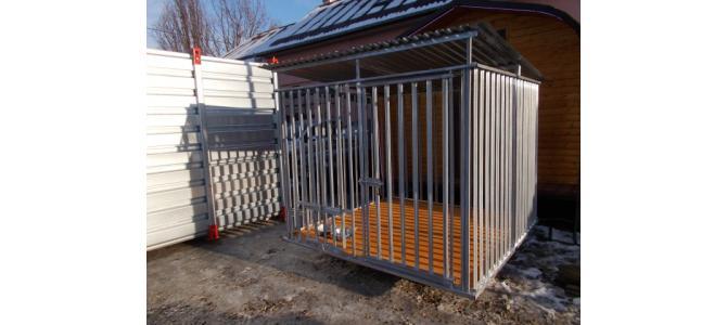 Tarc nou pentru caini, 2m x 2m, la Oradea