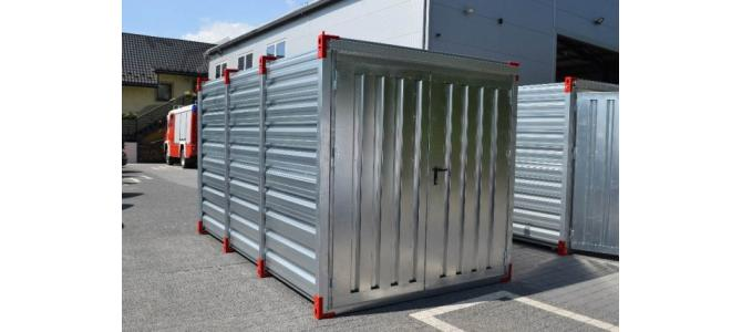 Container: 3m x 2,20m, Nou (direct de la distribuitor)