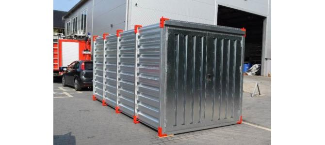 Container: 4m x 2,20m, Nou (direct de la distribuitor)